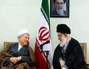 ayatollah khamenei -akbar hashemi rafsanjani