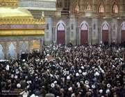 مرحوم آیت اللہ ہاشمی رفسنجانی کی تدفین