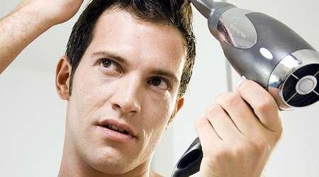 سشوار زدن مو