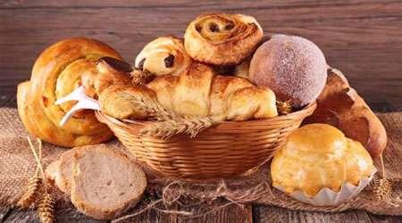 پیراشکی و نان های روغنی