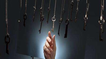 کلید، دست، کلیدها