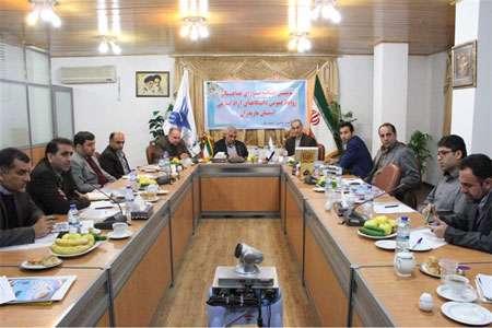 سومین جلسه شورای روابط عمومی دانشگاه آزاد اسلامی استان مازندران در واحد چالوس