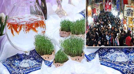 عید، سال نو، خرید، بازار