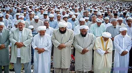 نماز خواندن اهل سنت