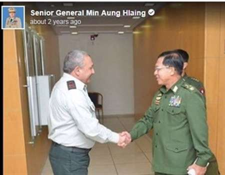 استمرار مبيعات الأسلحة الإسرائيلية إلى ميانمار
