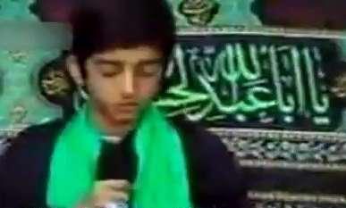 مداحی شهید محسن حججی در ماه محرم
