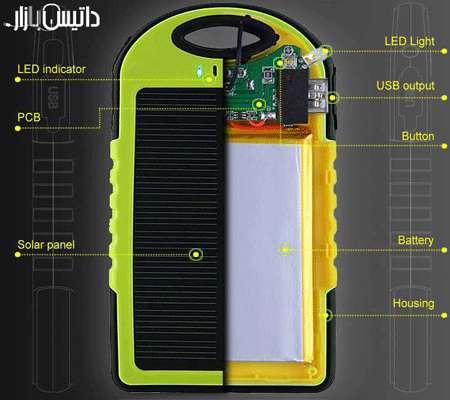 پاور بانک خورشیدی بسازیم