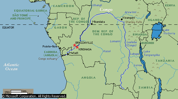 Ubangi River Map Africa The gallery for -->...