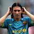 لیونل مسی ستاره آرژانتینی بارسلونا