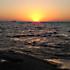 تصاوير غروب آفتاب در درياي عمان
