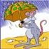 من چتر هستم. رنگارنگ و زیبا