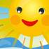 لبخند خورشید